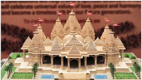 അബുദാബിയിലെ ആദ്യ ഹൈന്ദവ ക്ഷേത്രത്തിന് തറക്കല്ലിട്ടു ; അടുത്ത വര്ഷം നിര്മ്മാണം പൂര്ത്തിയാകും