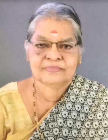 രാധാമണി സി. ജെ നിര്യാതയായി