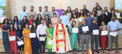 പ്രീ മാര്യേജ് കോഴ്സ്: സര്ട്ടിഫിക്കറ്റുകള് വിതരണം ചെയ്തു