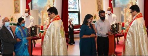 സോമര്സെറ്റ് സെന്റ് തോമസ് സീറോ മലബാര് ദേവാലയം കര്ഷകശ്രീ 2020 അവാര്ഡുകള് സമ്മാനിച്ചു