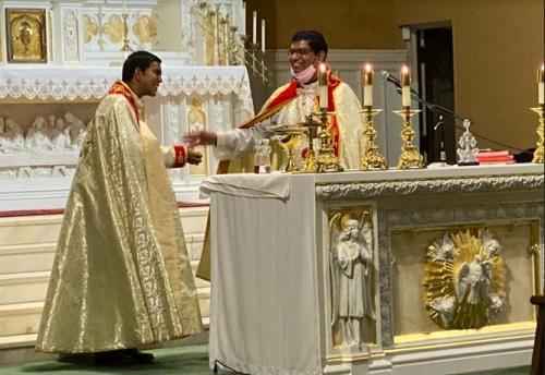 ഒഹായോ സെന്റ്മേരീസ് സീറോ മലബാര്കത്തോലിക്കാ മിഷനില് പരി.കന്യാമറിയത്തിന്റെ തിരുനാള് ആഘോഷിച്ചു