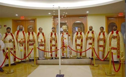 ഷിക്കാഗോ മാര്ത്തോമാ ശ്ശീഹാ കത്തീഡ്രലില് ദനഹ തിരുനാള് കൊണ്ടാടി