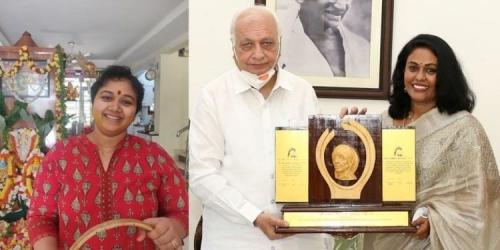 നടി സീമ ജി നായര്ക്ക് മദര് തെരേസ അവാര്ഡ്, പുരസ്കാരം ലഭിച്ചത് ശരണ്യ ലോകത്തോട് വിടപറഞ്ഞ 41ാം നാള്